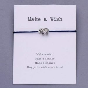 Jewelry - New Lucky Elephant - Make a Wish Bracelet